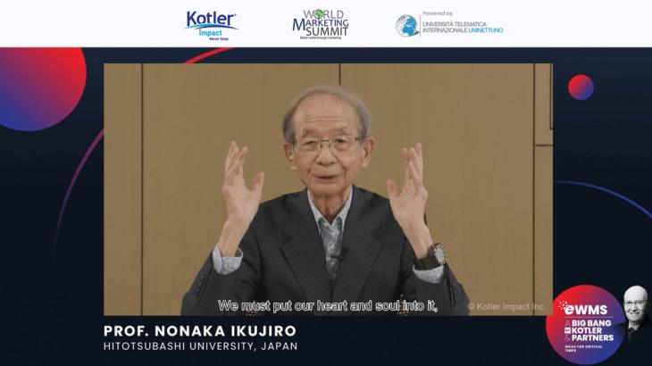 野中郁次郎、経営を変えるクリエイティブペアとの知的コンバット