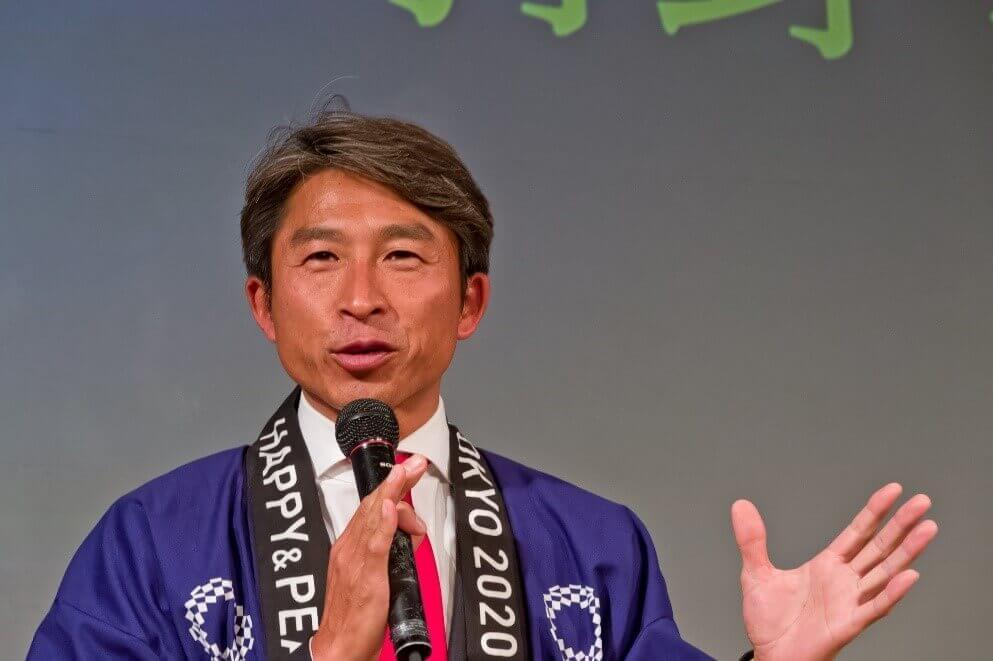 スキー・ノルディック複合 金メダリスト 荻原 健司様